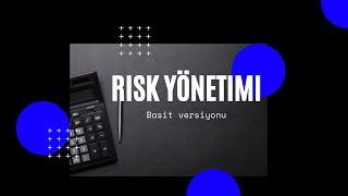 Risk Yönetimi ve Analizi Nasıl Yapılır | Türkce
