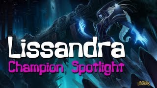 Lissandra - Champion and Ability Preview - League of Legends