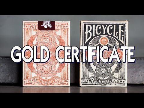 Gold Certificate Federal 52 - Kings Wild Project - Deck Review