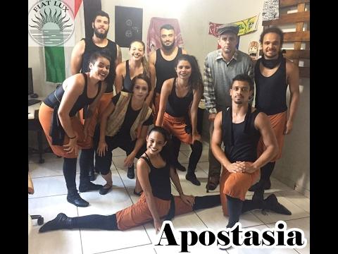 Espetáculo Apostasia/ Cia fiat lux