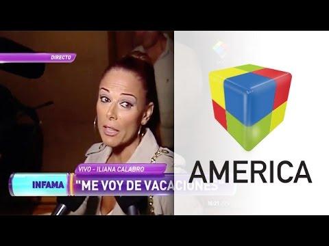 Iliana Calabró pidió que eviten hablar de Rossi como su ex