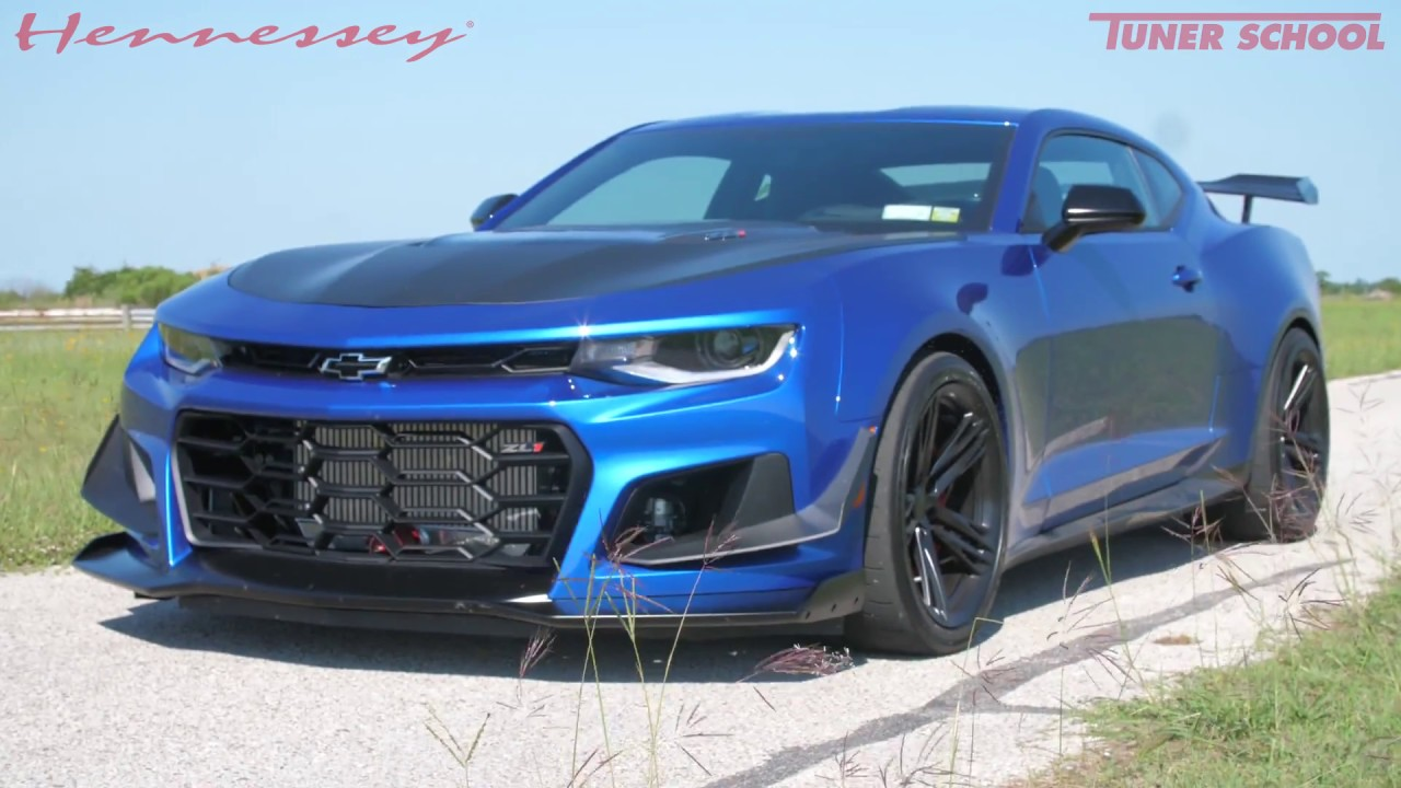 The Exorcist Camaro Zl1 1le In Action Youtube