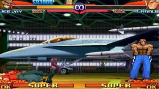 Street Fighter Alpha 3 Max - Dee Jay Playthrough