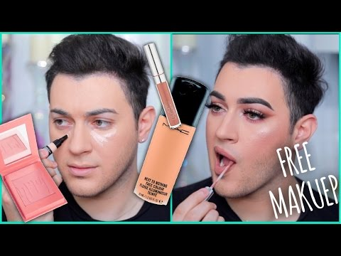 Thumbnail: FULL FACE OF MAKEUP USING FREE PR! | Manny MUA