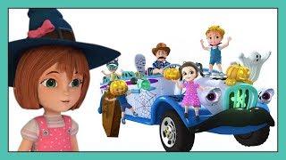 Wheels On The Bus | Halloween Songs For Children | Halloween Bus | The Best Songs Of Halloween