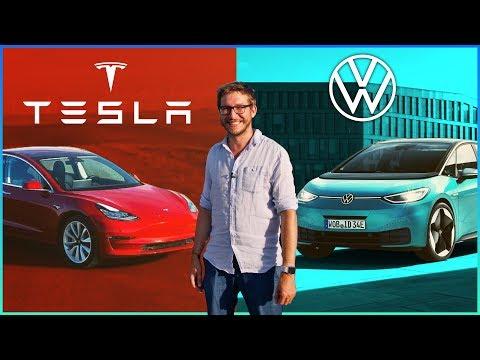 Kann VW noch aufholen? VW vs Tesla