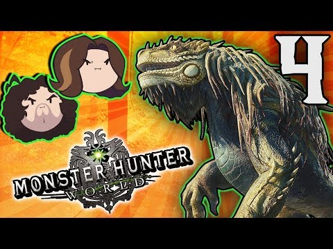 Monster Hunter World: On the Hunt! - PART 4 - Game Grumps thumbnail