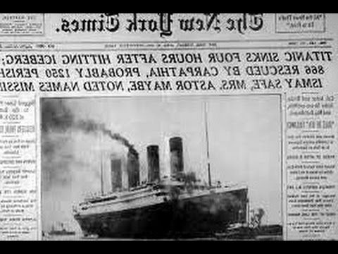 New Titanic Documentary video Claims Ship Sank Due to Fire First Time 2017