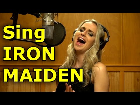Gabriela Gunčíková -Gun - How To Sing Bruce Dickinson - Iron Maiden - Trooper - Ken Tamplin - TSO