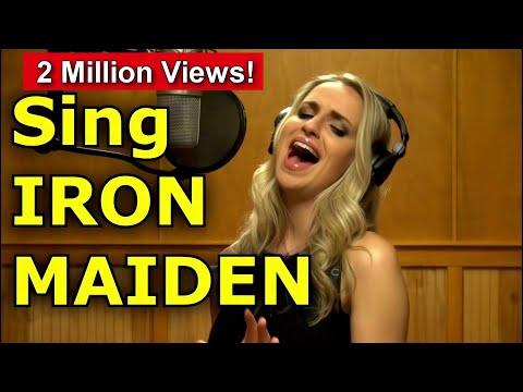 Gabriela Gunčíková /Gun / How To Sing Bruce Dickinson - Iron Maiden - Trooper / Ken Tamplin