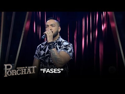 Belo canta o sucesso Fases no Porchat