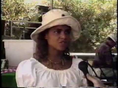 Victoria Rowell & Larry Mahan Interview - 1992