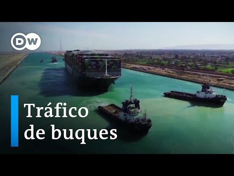 Secuelas del atasco en el Canal de Suez