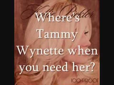 Kellie Pickler - Where's Tammy Wynette? [Lyrics On Screen]