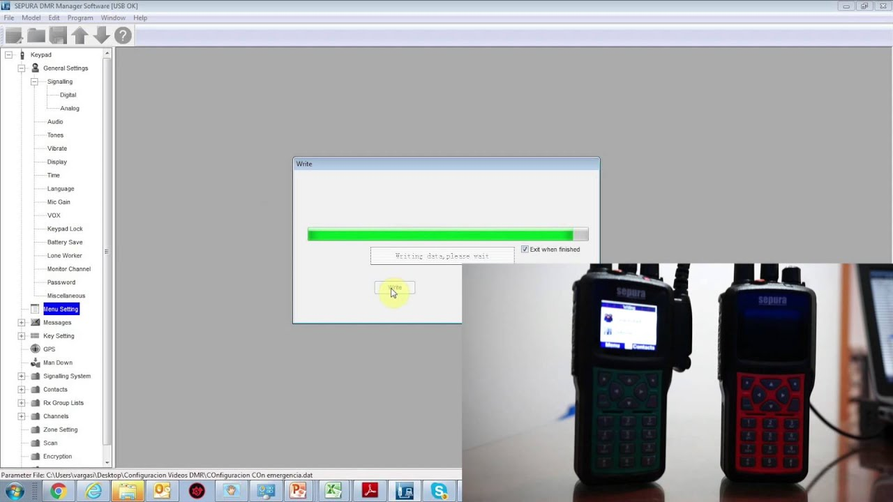 Supervisor Functionalities Tutorial DMR V2