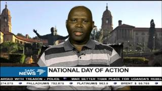 Somadoda Fikeni reacts to the National Day of Action by opposition parties