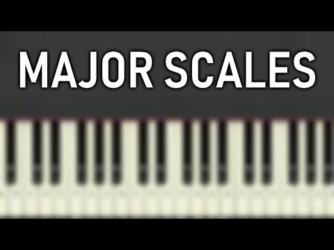 ♬ Learn your MAJOR SCALES PIANOVOCAL EXERCISE in ALL 12 KEYS SLOW    Soulphonic ♬