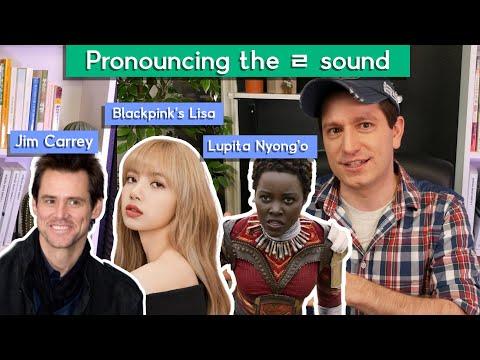 Grading celebrities speaking in Korean
