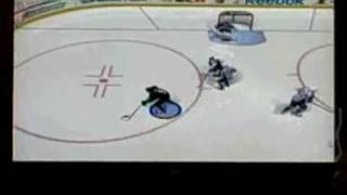 Jan 15 2009 - NHL 09 - I score with Mike Modano against the Colorado Avalanche