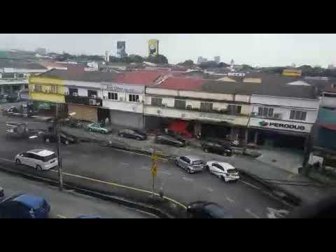 Malaysian metro outside view