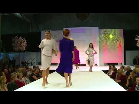 Dublin based Fashion Designer Maire Forkin shows her collection