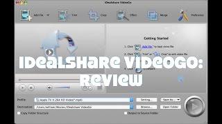 iDealshare VideoGo Converter for Mac: Review