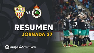 Resumen de UD Almería vs Real Racing Club (0-1)