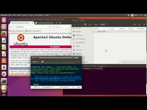 How To Set Permissions After Install LAMP On Ubuntu 17.04 For Development