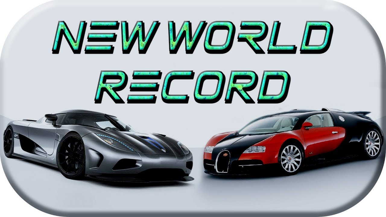 Koenigsegg Agera RS ▻ Fastest production car in the world VS ...