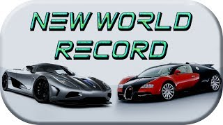 Koenigsegg Agera RS ► Fastest production car in the world VS BUGATTI Veyron SuperSport World Record