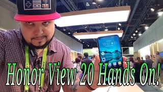 Honor View 20 Review of Specs First look Hands On No Notch!