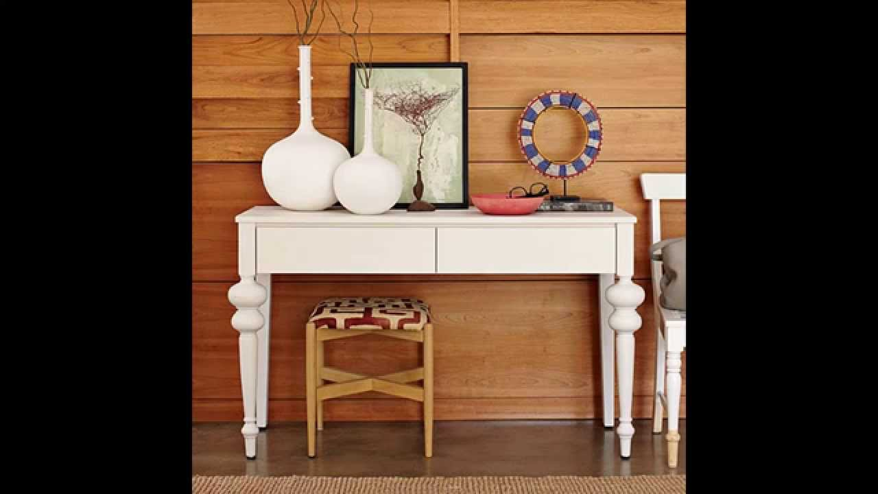 Creative console table decorating ideas youtube geotapseo Gallery