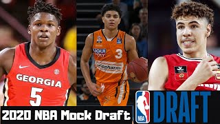 NBA Mock draft 2020