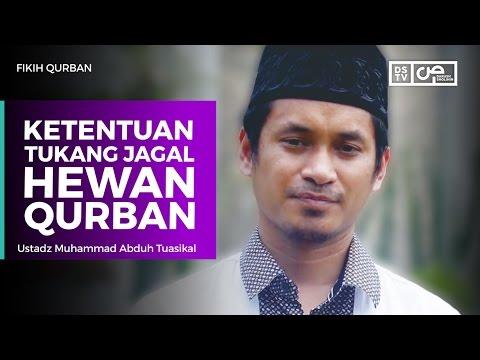 Fikih Qurban - Ketentuan Tukang Jagal Hewan Qurban - Ustadz Muhammad Abduh Tuasikal