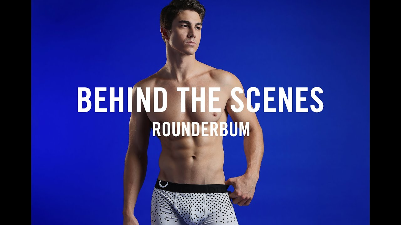 6cb0547e Rounderbum Butt Enhancing Underwear Behind The Scenes With Male Model Kyle  Kriesel. The Underwear Expert