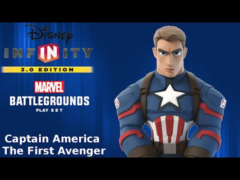 Disney Infinity 3.0 - Marvel Battlegrounds Play Set -- Captain America: The First Avenger