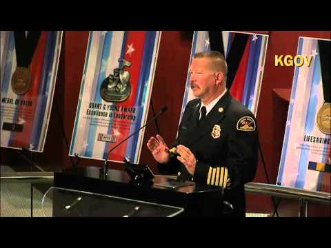 Kern County Fire Department 2016 Awards Ceremony