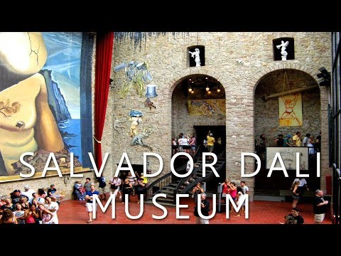 Salvador Dalí , museum in Figueres, Spain