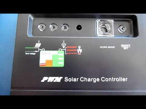 solar power set up for camper van 100 watts