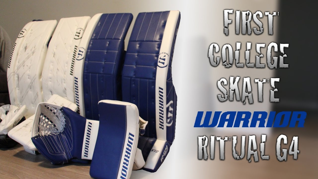 Warrior Ritual G4 Pad Review – Hockey Review HQ