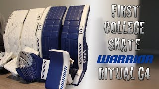 WARRIOR RITUAL G4 1ST SKATE + UNBOXING