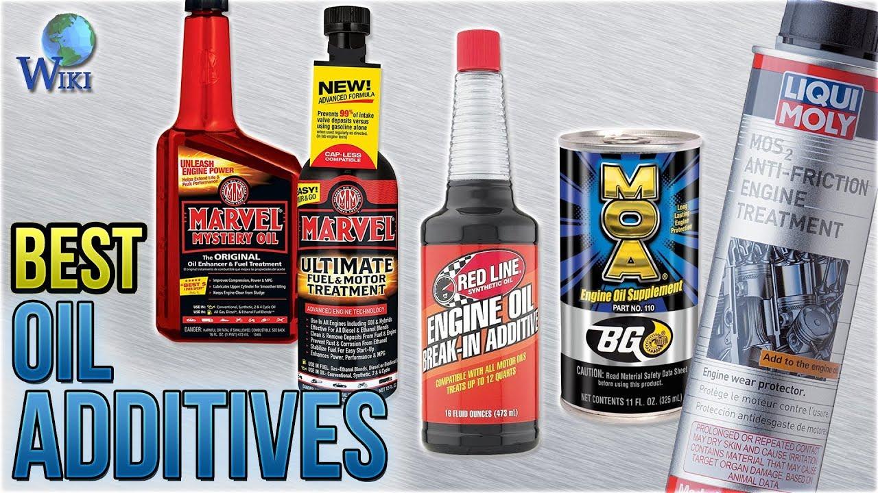10 Best Oil Additives 2018