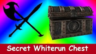 Skyrim Special Edition - Secret Whiterun Chest Location!