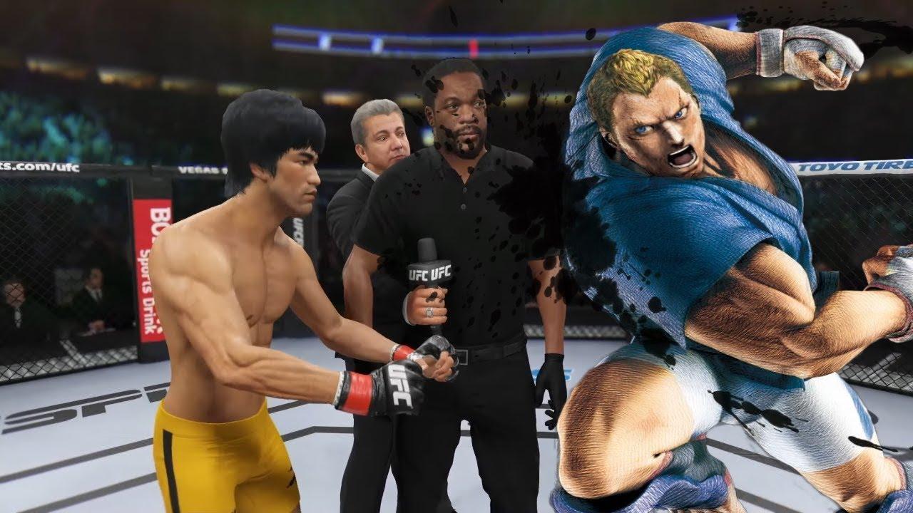 UFC 4 | Bruce Lee vs. Abel Madman Street Fighter (EA Sports UFC 4)