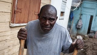 Dominica: Moses Lewis, local baker, picking himself up after Hurricane Maria