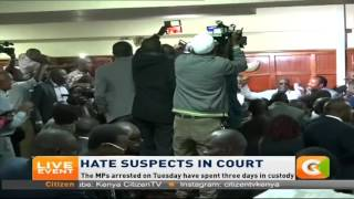 VIDEO: Song and dance as 'hate speech' MPs freed