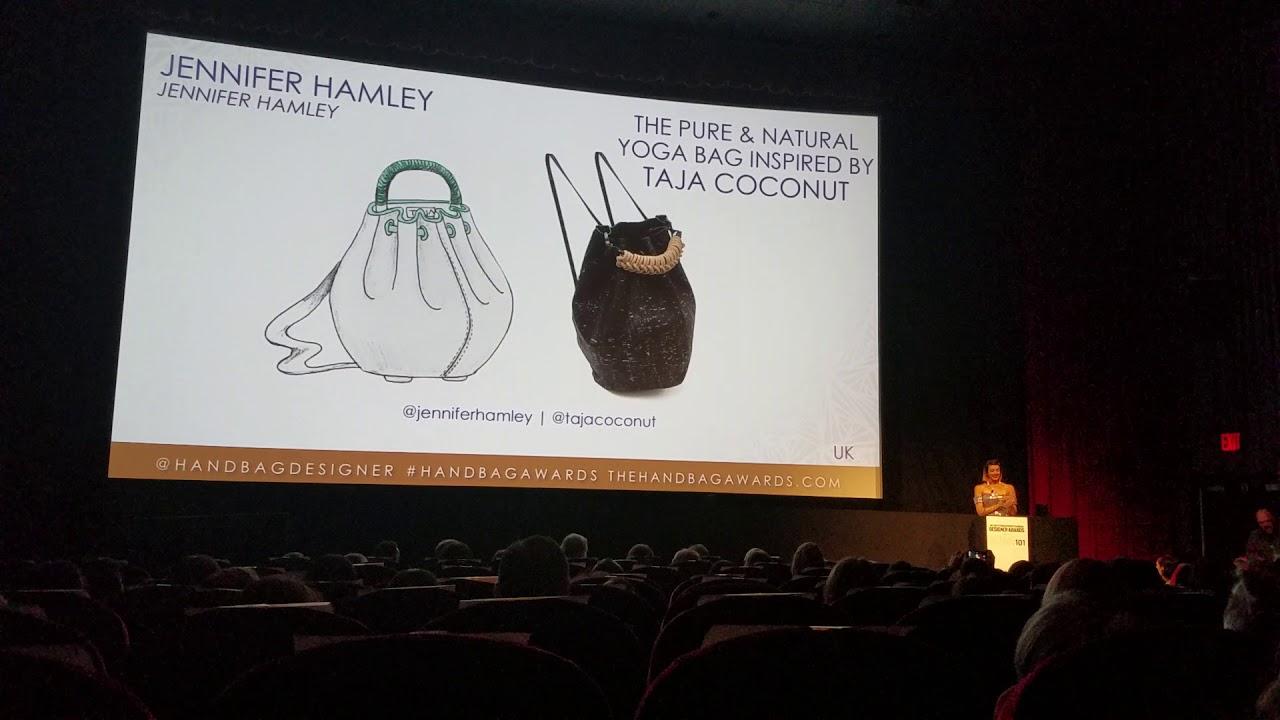 2018 Independent Handbag Designer Award Winner Jennifer Hamley