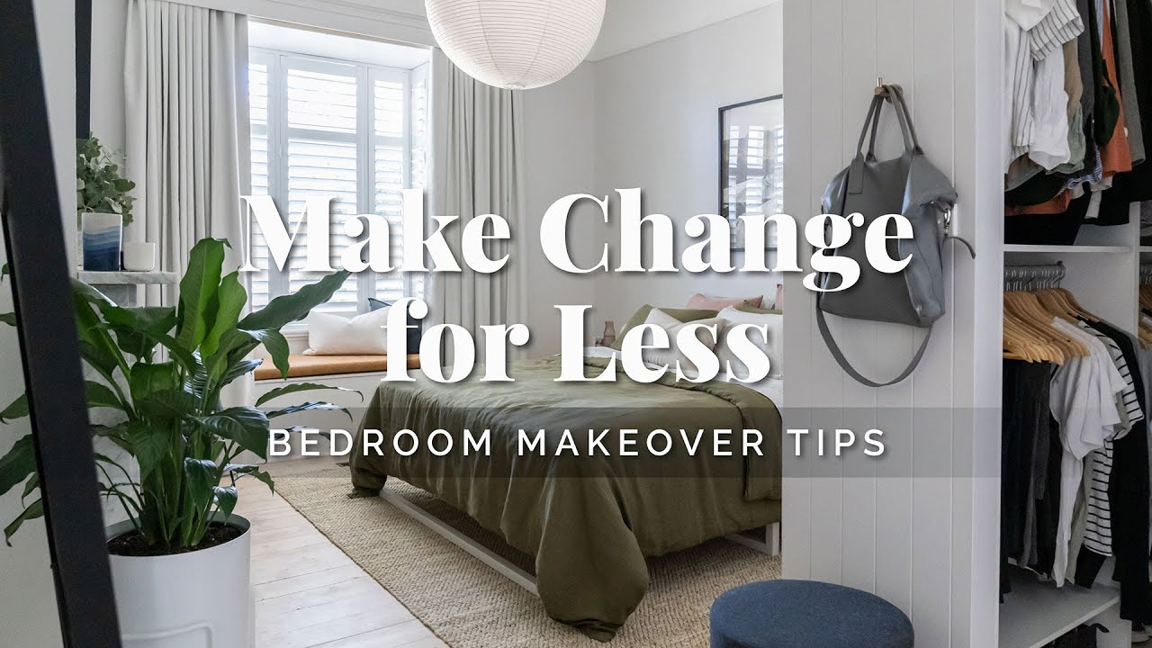 How to Renovate & Style Your Bedroom on a Budget! 💡 Bedroom Makeover Tips to Make Change for Less