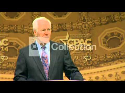 CPAC-JOHN CORNYN-MUST TAKE BACK CONGRESS