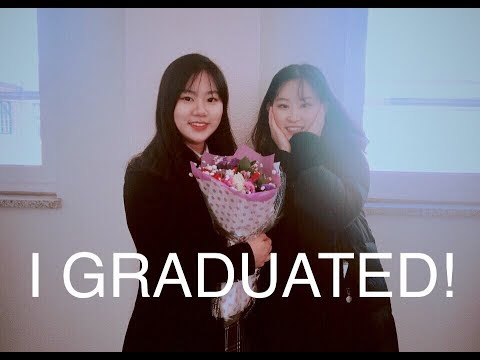 KOREAN HIGH SCHOOL GRADUATION in 3 minutes!